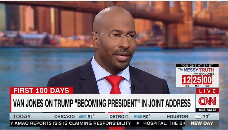 "Gotta give this guy credit… Although Van Jones can sometimes get on our nerves, there are many times when he is very objective with his opinions of Trump. After his election night ""Whitelash"" meltdown, he has given President Trump praise on many occasions. Not only did he praise him less than one week after the election by saying ""Trump has been spectacular"", but he also gave Trump massive credit when he recognized the wife of a fallen Navy Seal. However, CNN has a strict policy against…"