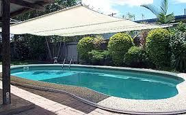 Image result for shade sails over pools