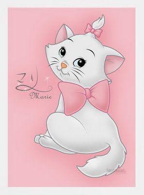 Imagens Gatinha Marie da Disney