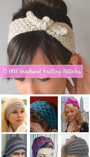 Free Knitting Headbands Patterns Compilation Of Free Knitting