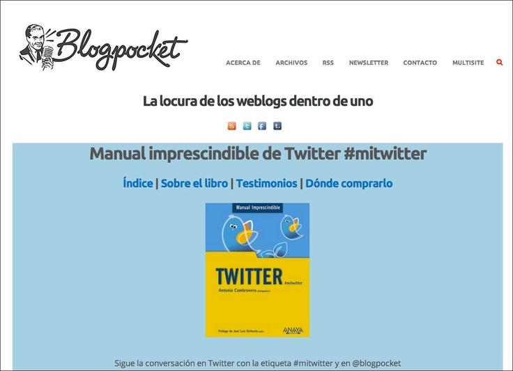 Página de Blogpocket.com con toda la información acerca del libro.
