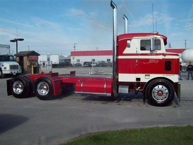 Cool Semi Trucks 1949 Kenworth K100c Cabover Truck W Sleeper For