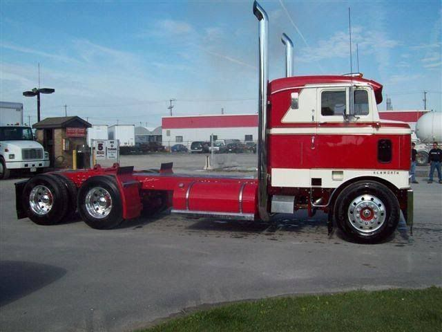 old red n white kenworth cabover trucks we think are awesome pinterest trucks red and. Black Bedroom Furniture Sets. Home Design Ideas