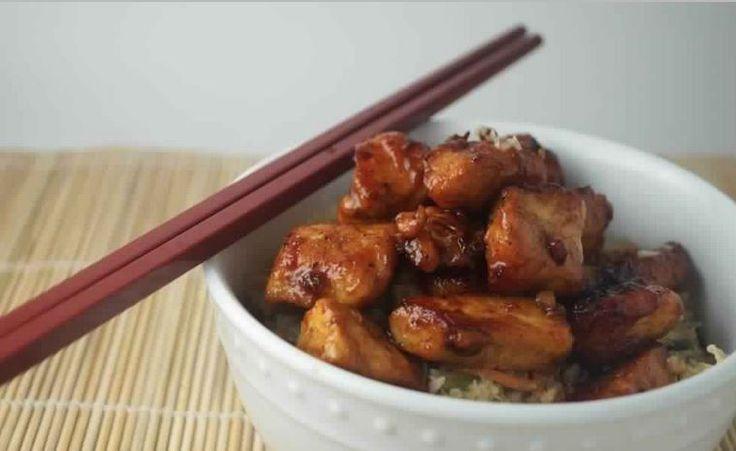 Slow Cooker Honey Garlic Chicken | Weight Watchers Recipes