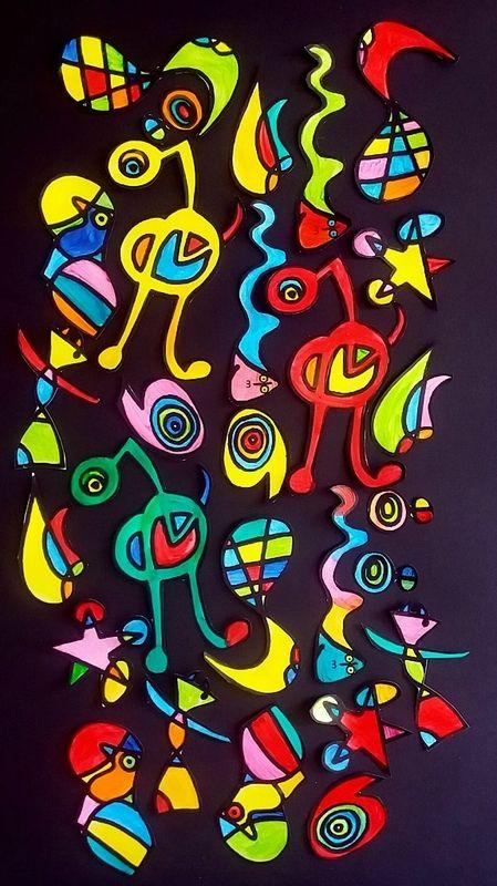 Mêlo Miro Le Tour De Mes Idées Art Plastique Pinterest Art