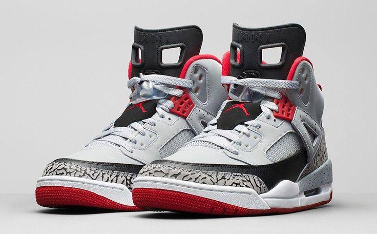 "Air Jordan Spizike ""Wolf Grey"" Launch: 10th December 00:01GMT Price: £129.00  http://www.hanon-shop.com/the-blog/air-jordan-spizike-wolf-grey/"
