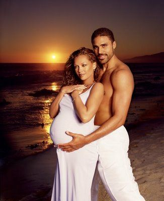 what a beautiful pic. of Vanessa Williams & Rick Fox