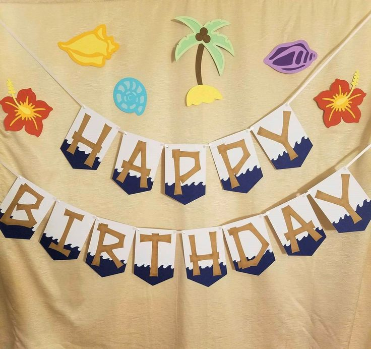 1000+ Ideas About Luau Birthday Banners On Pinterest