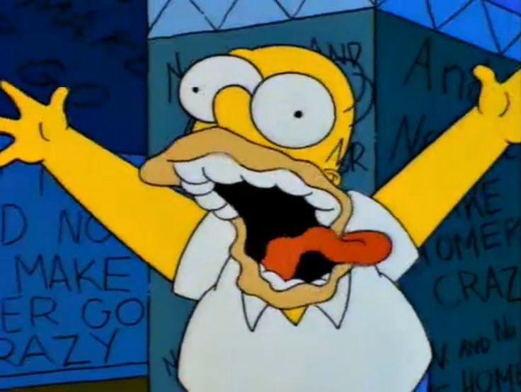 Homer Simpson_No beer_No TV