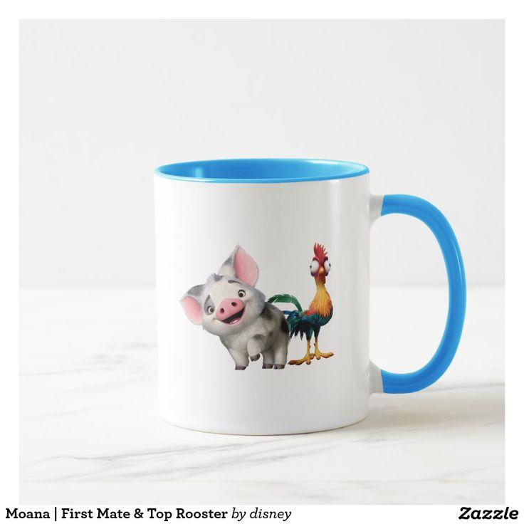 Moana | First Mate & Top Rooster Mug