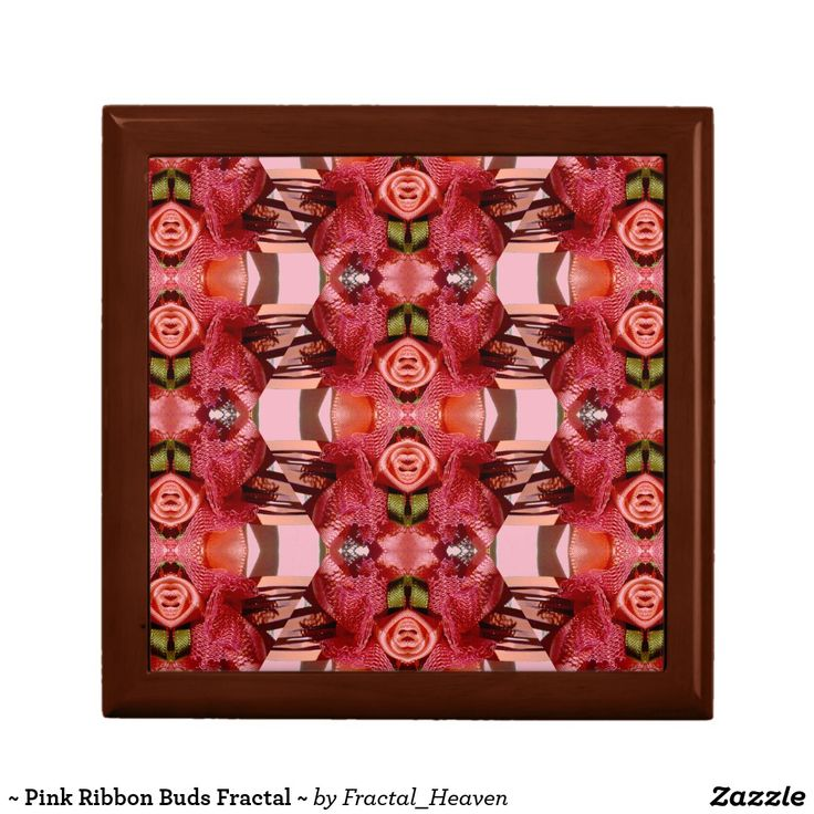 ~ Pink Ribbon Buds Fractal ~