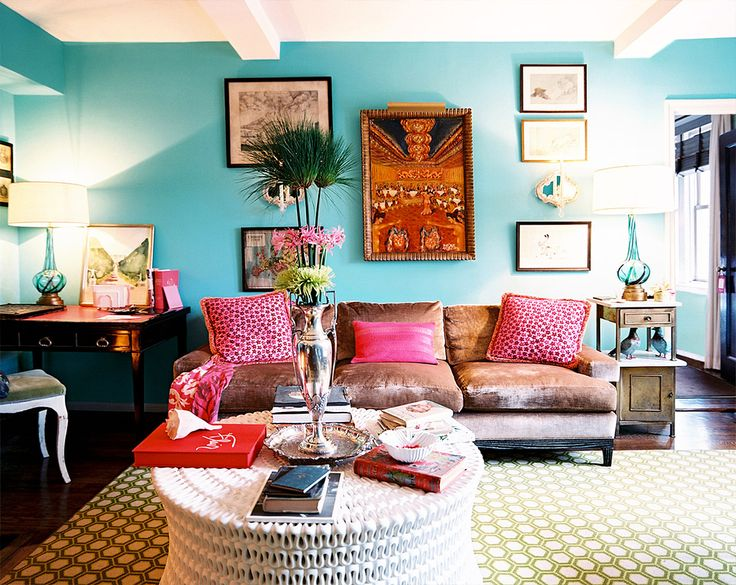 Attractive Inspiration Bohemian Couch. 9 Pretty in Pink Rooms for Your Feminine Side 372 best Bohemian Bungalow images on Pinterest