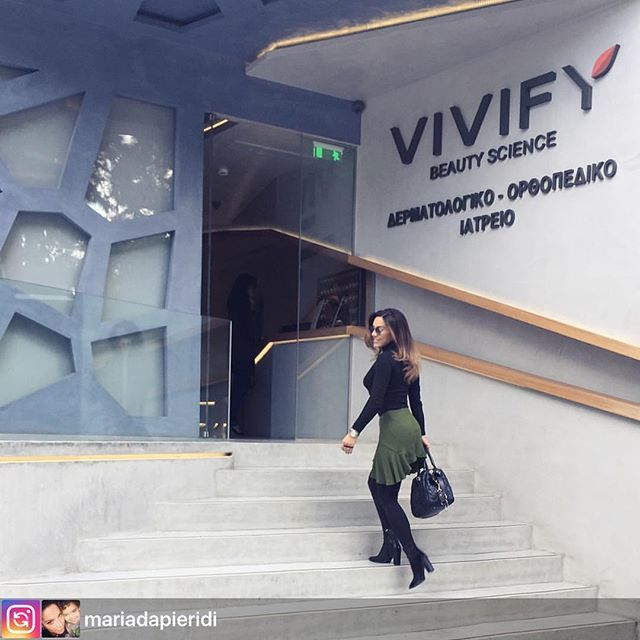 Thank you @mariadapieridi 💕 Repost: My fav Beauty Salon!!! #vivify #vivifyyourself #relaxing #bebeautiful #happytime #mamastime