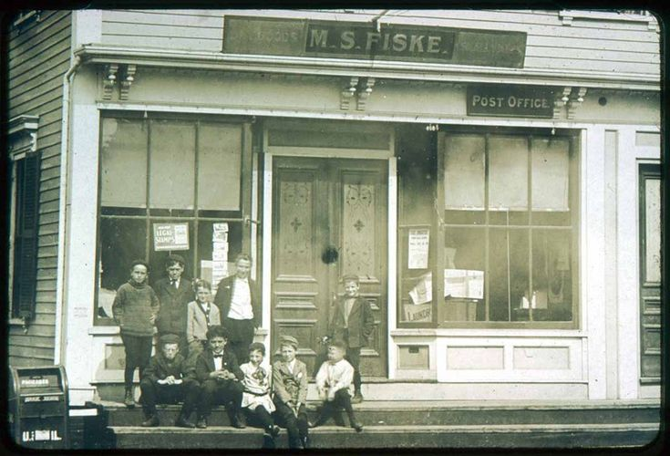 The Mail, Fiske Store & Post Office, Jackson Street · Saugus Public Library, Saugus, Mass. Digital Heritage
