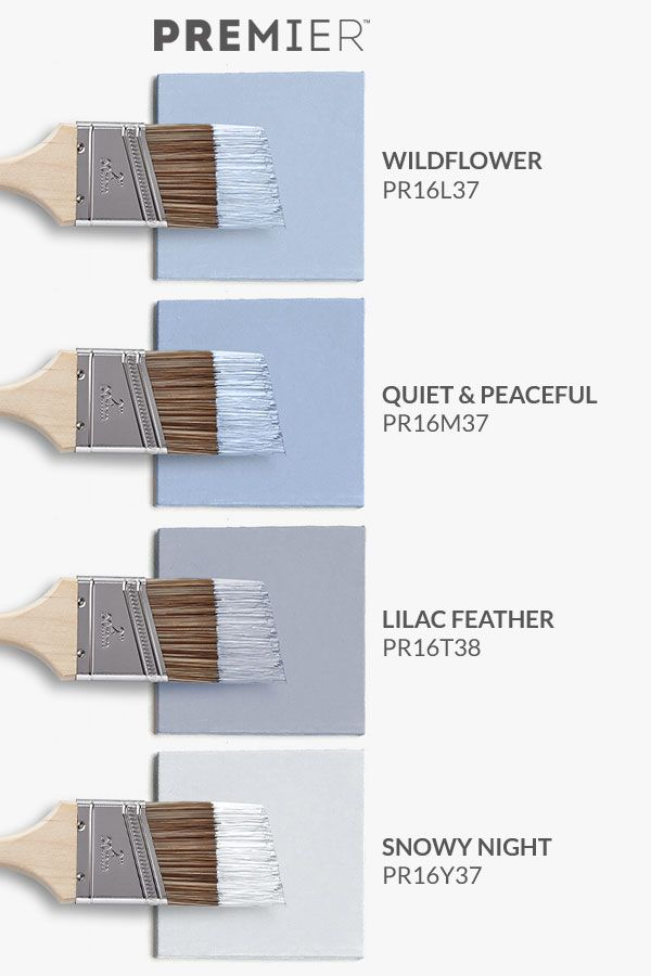 Bring serenity to your home with this paint palette by PREMIER. #PaintWithPREMIER