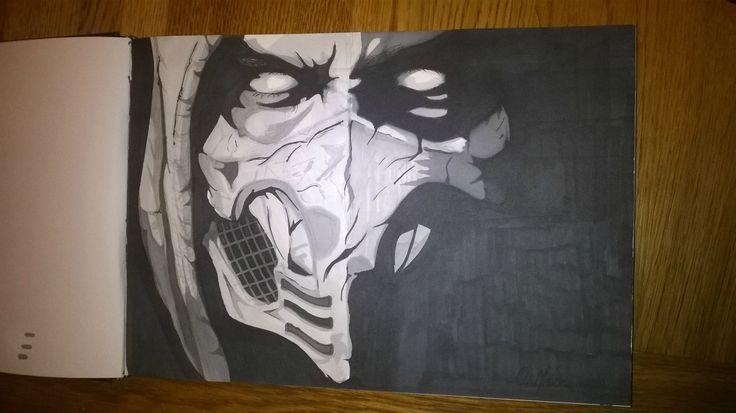 Mortal Kombat X's Scorpion