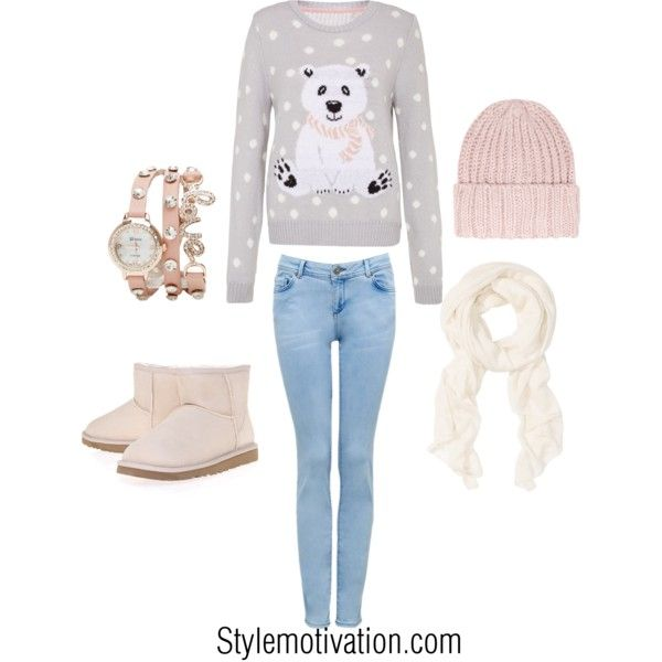 Love this for the holiday season!!! soooo warm and adorable....great Christmas idea: Outfit Ideas, Polar Bears, Style, Holidays Outfits, Clothing, Cute Christmas Outfits, Winter Outfits, Outfits Ideas, Christmas Ideas