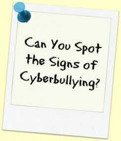 A good thesis statement for cyberbullying