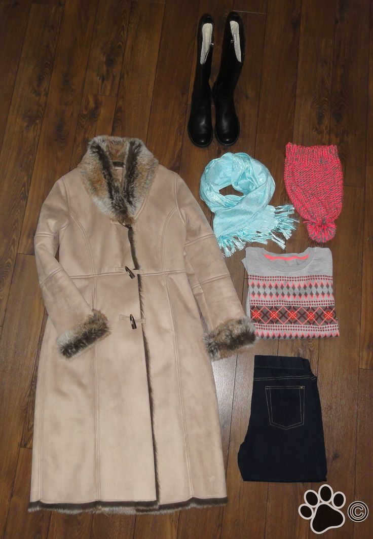 Winter coat for a cold winter day