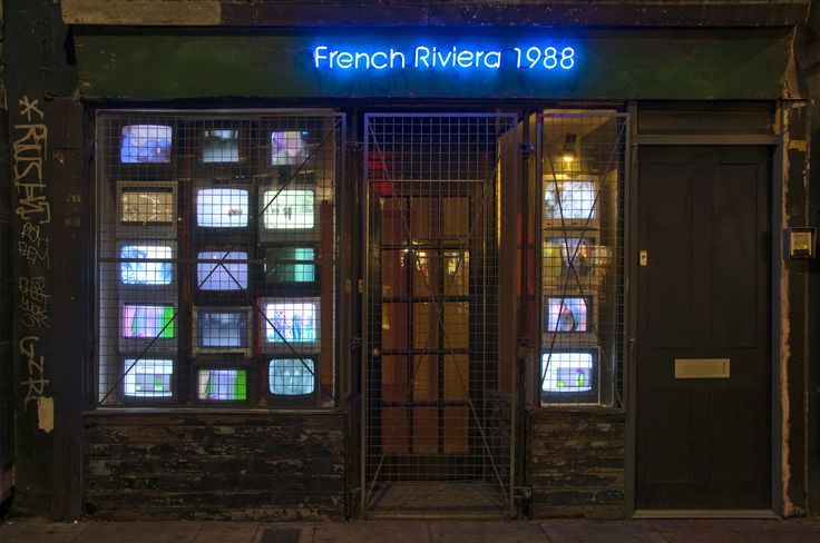 French Riviera Wicked Bethnal Green-based Gallery.
