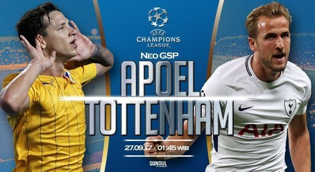 Banh 88 Trang Tổng Hợp Nhận Định & Soi Kèo Nhà Cái - Banh88.infoKèo Nhà Cái W88 - Nhận định APOEL vs Tottenham 01h45 ngày 27/9: Ác mộng tháng 9  Nhận định bóng đá hôm nay soi kèo trận đấu APOEL vs Tottenham 01h45 ngày 27/9 bảng H Champions League sân Neo GSP.  APOEL vừa khởi đầu chiến dịch Champions League năm nay bằng trận thua đậm Real Madrid hôm giữa tháng 9. Họ sẽ kết lại tháng này bằng một nỗi ám ảnh nữa?  Kèo nhà cái APOEL vs Tottenham  Nhận định APOEL  Như đã biết cách đây 2 tuần lễ…