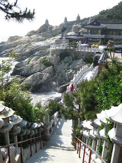 Haedong Yonggungsa, the seaside temple of Busan, South Korea