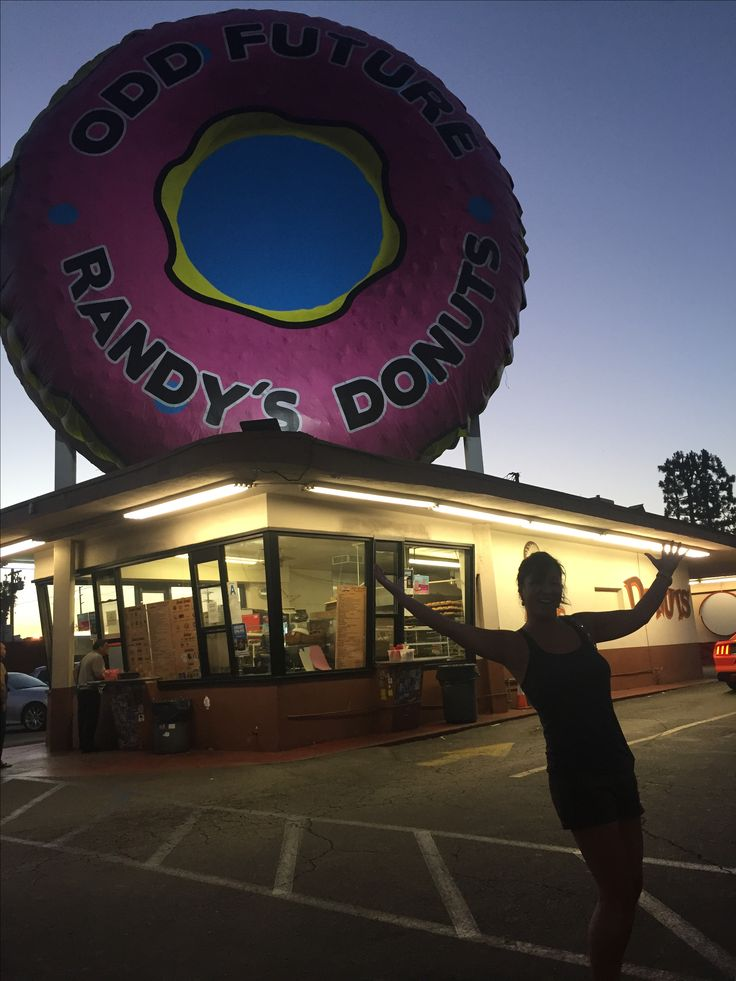 Randy's Donuts When birthday cake just won't do! ;)