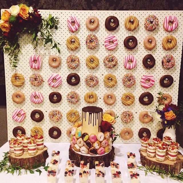 5 Reasons Why Donut Walls Are This Year's Best Wedding Trend Christina DeSanti