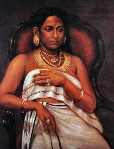 painting by raja ravi verma