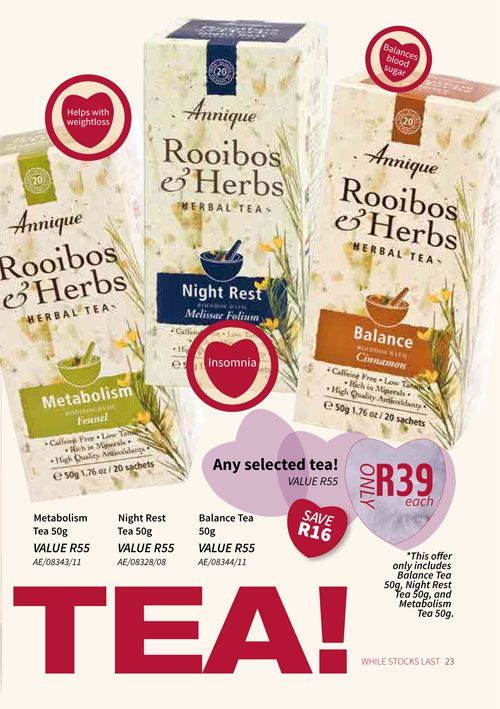 February 2018 Beaute | Annique Health & Beauty Specials. Purchase these Monthly  specials from our Rooibos-Miracle Online Store. #annique #rooibos #rooibosmiracle #skincare #cosmetics #diet #naturalremedies