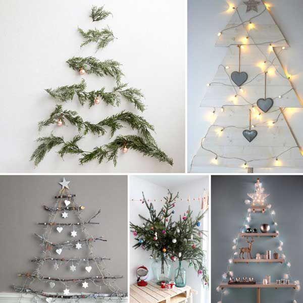 Alberi Di Natale Alternativi Fai Da Te.Pin Su Idee Per Natale Christmas