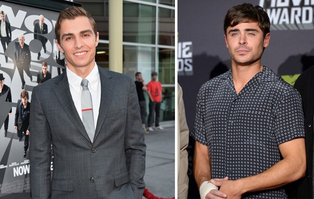 dave franco and zack efron   Zac Efron broke his hand while filming his upcoming movie Townies back ...