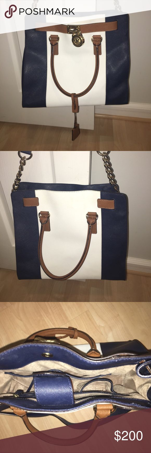 Authentic Michael Kors Bag Brand new condition. Only used once for a few hours just too big for what I need. Bought directly from the Michael Kors store. No signs of wear looks brand new!12.5 inches by 9 3/4. Make me an offer! MICHAEL Michael Kors Bags Shoulder Bags