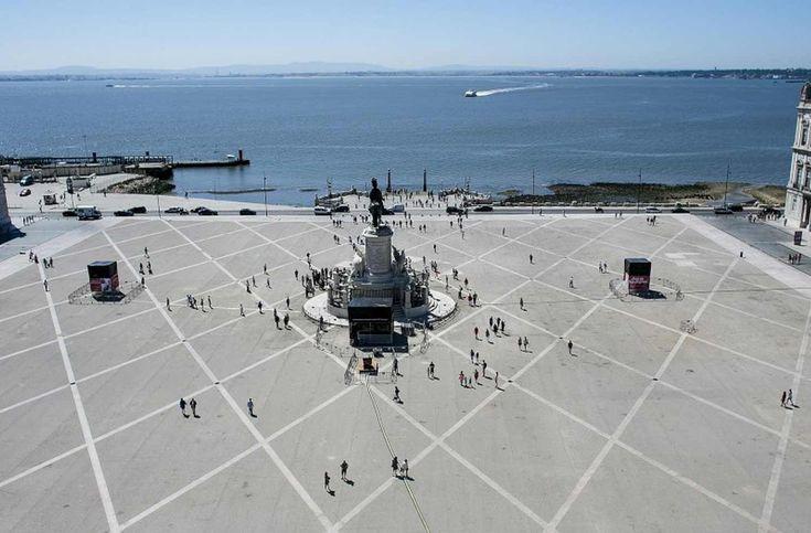 Lisboa: O miradouro triunfal do Arco da Rua Augusta <Lisbon's new…