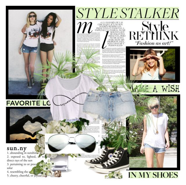 miley with my cousin go walk by slytheriner on Polyvore featuring JET by John Eshaya, Ksubi, Converse, PLANT, Whiteley and Style Stalker