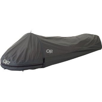 Weighing in at only 18 oz., this is the lightest weight bivy available from Outdoor Research. With a classic clamshell design, it's waterproof, breathable and ready for many seasons of adventures.