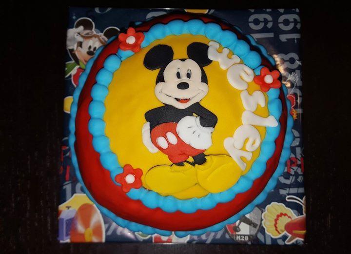 Mickey Mouse meptaartje