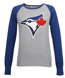 Toronto Blue Jays Touch by Alyssa Milano Fan for Life Sweater