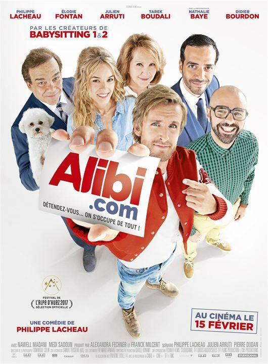 """♥♥♥ """"Alibi.com"""", une comédie de Philippe Lacheau avec Philippe Lacheau, Elodie Fontan, Julien Arruti, Tarek Boudali, Nathalie Baye, Didier Bourdon... (02/2017)"""