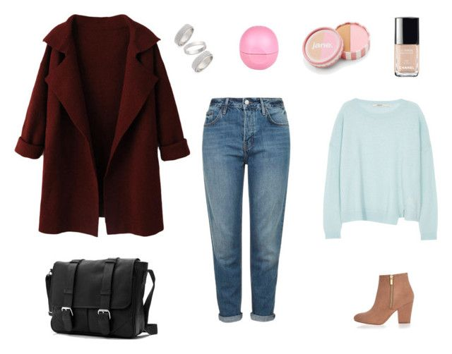 """""""49"""" by dasha-efimovich on Polyvore featuring мода, WithChic, J Brand, Topshop, River Island, Chanel, jane, women's clothing, women и female"""