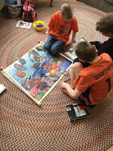Study Coral Reef In A Mixed Age Montessori Classroom Or Homeschool