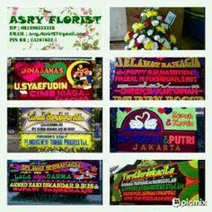 Toko Bunga Asry Florist online murah melayani pesanan pengiriman aneka model karangan bunga papan,parcel,pernikahan,ulang tahun,berdukacita,peresmian,pelantikan