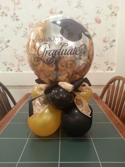 Graduation Centerpiece ideas - no directions