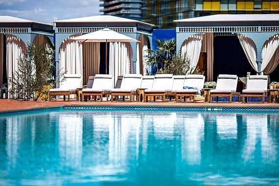 Jemaa The Nomad Pool Party Launches April 12 At Nomad Las Vegas At Park Mgm Las Vegas Pool Vegas Pools Las Vegas Luxury