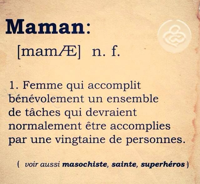 merci maman!!lol