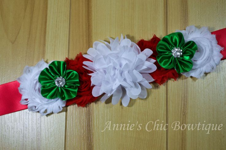 Christmas maternity sash, Red White Green Maternity Sash, Maternity photos, Christmas props, baby shower, pregnancy belt, maternity belt by AnniesChicBowtique on Etsy
