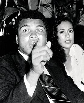Muhammad Ali & wife Veronica