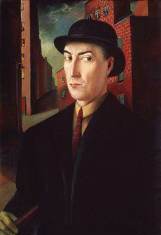 Carlo Mense, Portrait of Heinrich Maria Davringhausen, 1922