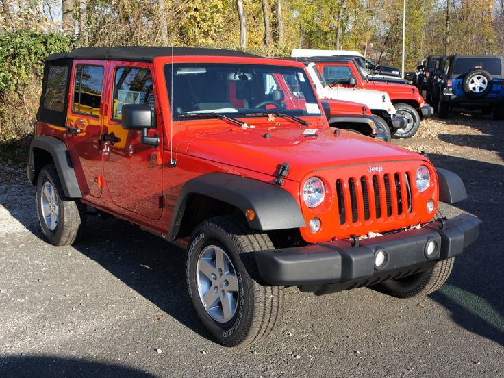 New 2014 Jeep Wrangler Unlimited Sport
