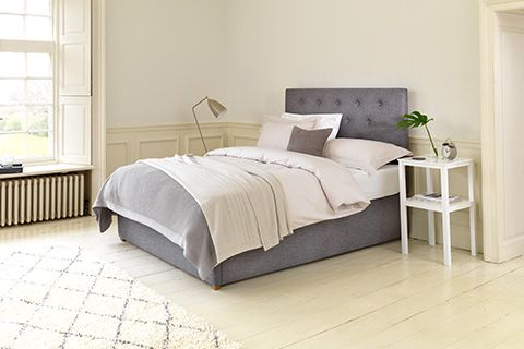 The stylish Ripley Deep Ottoman bed saves space and provide deep storage so you can hide your extra bedroom belongings